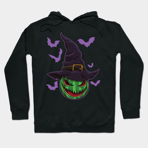 Halloween Watermelon Witch - Halloween Party Hoodie