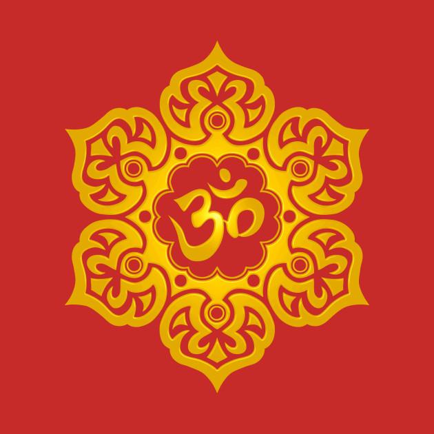 Yellow lotus flower yoga om lotus flower t shirt teepublic 763191 1 mightylinksfo