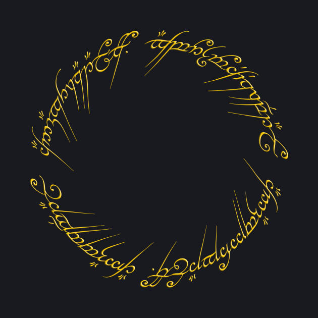 The One Ring Inscription