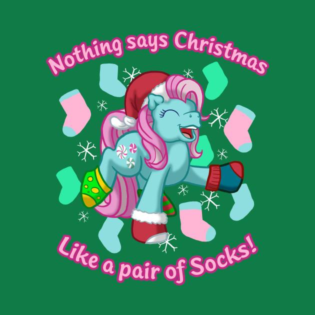 Minty's Christmas Socks