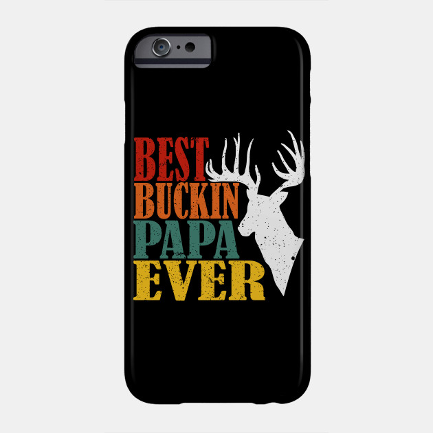 Mens Dad Papa Deer Hunting Gift Idea Bow Arrow Hunter Fathers Day Phone Case