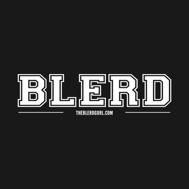 Blerd Varsity White type
