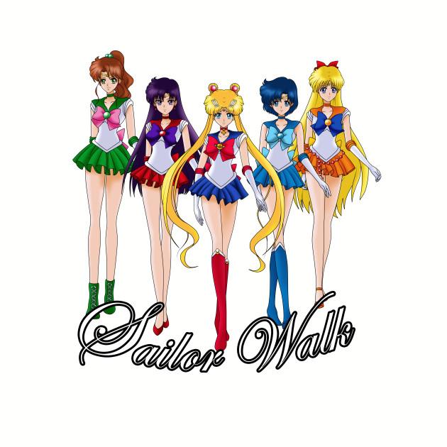 Sailor moon Crystal Walk
