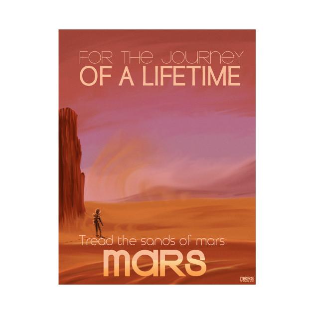 Mars Space Art