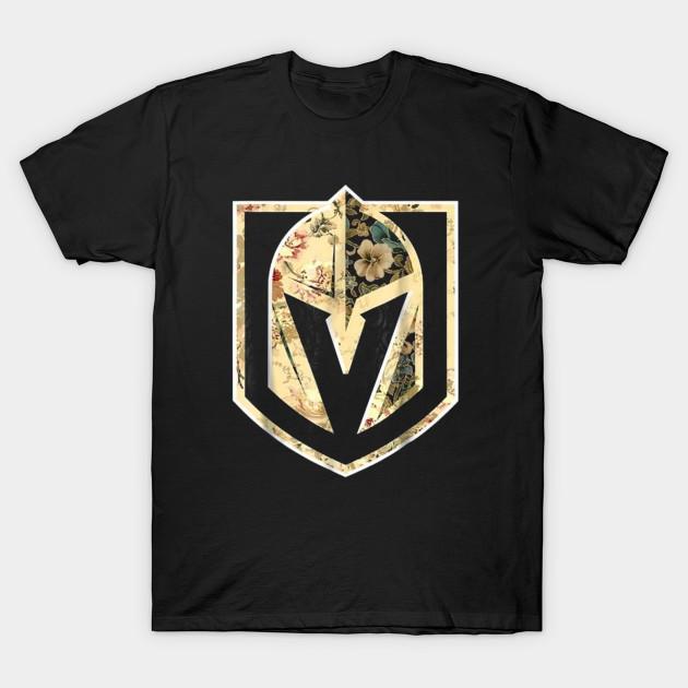 best authentic fbd13 279b5 Flower Power Las Vegas Hockey T Shirt Golden Gift Knights