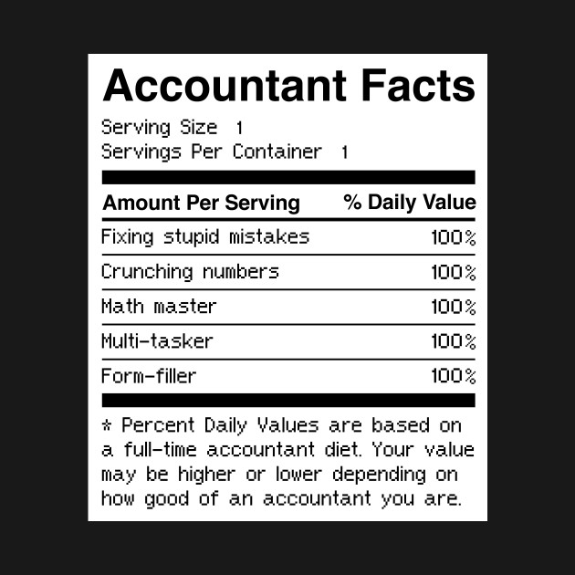 e40d3f5acf Accountant Facts | Funny Accounting Accountant Facts | Funny Accounting