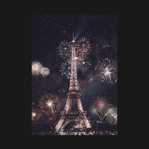 New Years Eiffel Tower