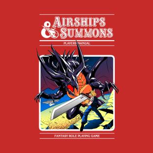 Airships and Summons t-shirts