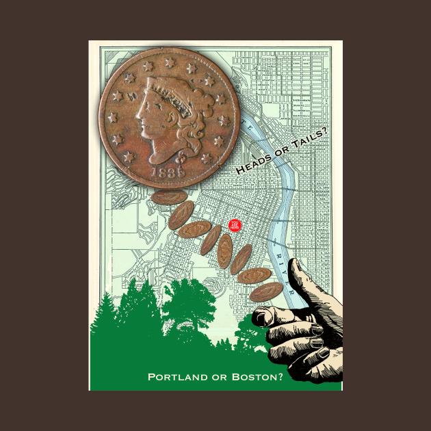 The Portland Penny tee