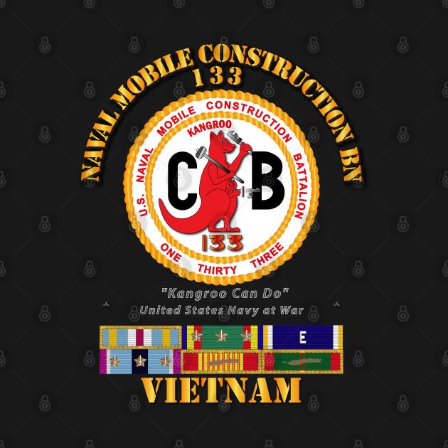 133 NCB w SVC Ribbons - Vietnam