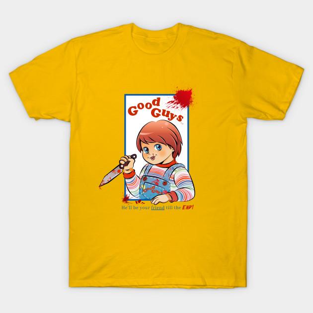 The Good Guy Chucky TShirt TeePublic - Good guy shirt