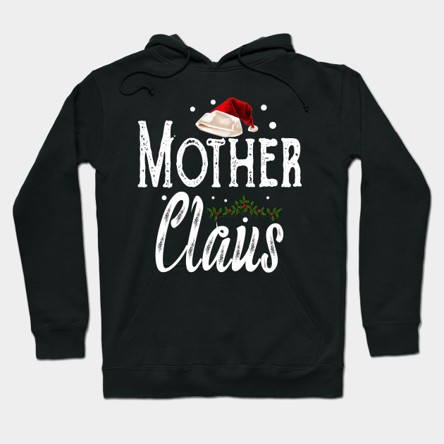 Mother Claus Christmas Family Matching Pajama Hoodie