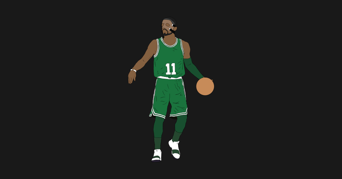 Masked Kyrie Irving Kyrie Irving Sticker Teepublic