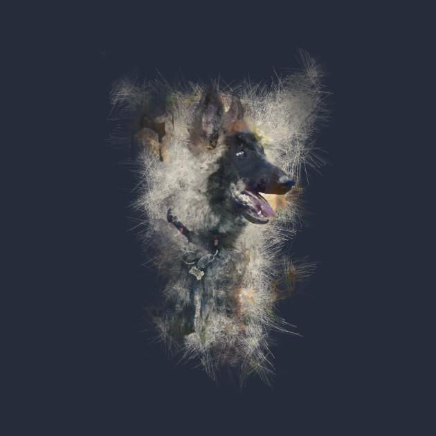 distorted puppy design