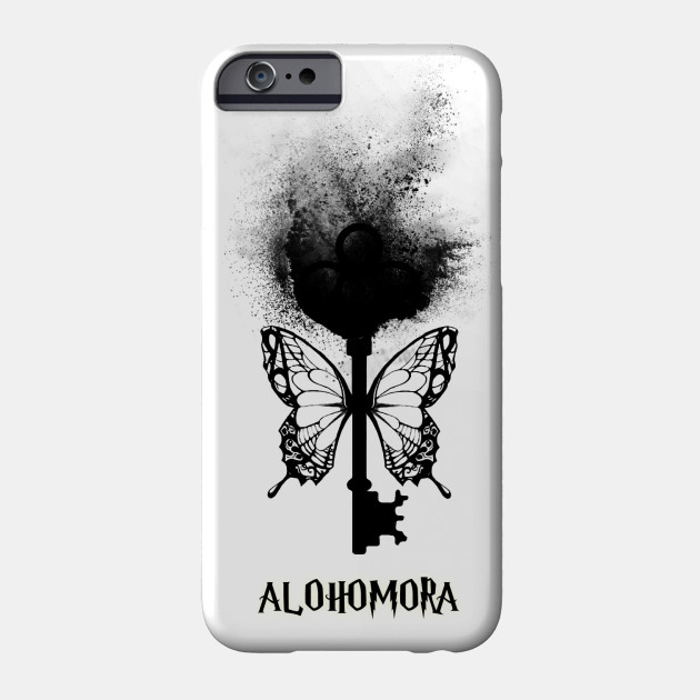 Harry Potter - Alohomora - magic flying key (sand explosion black) - Spell  - Potterhead