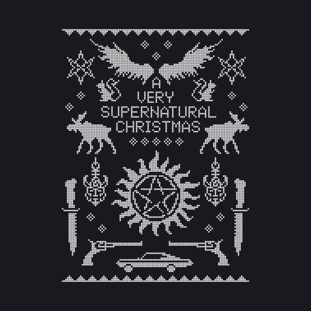 A Very SPN Sweater