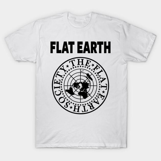 3f43bfcd FLAT EARTH SHIRT, FLAT EARTH SOCIETY T-SHIRT, FLAT EARTHER - Flat ...