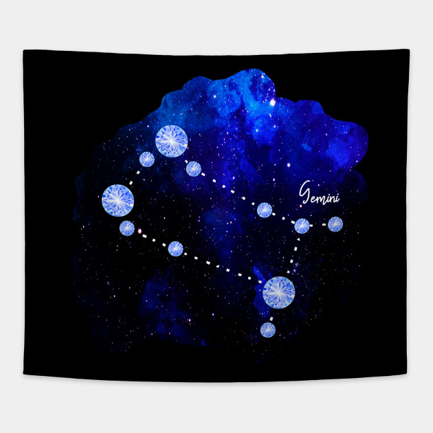 Star Signs and Birth Stones - Gemini Constellation in Sapphire