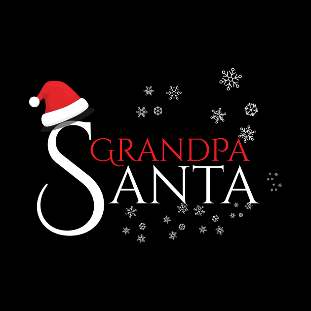 Grandpa Santa Family Christmas Gifts for your Grand Father