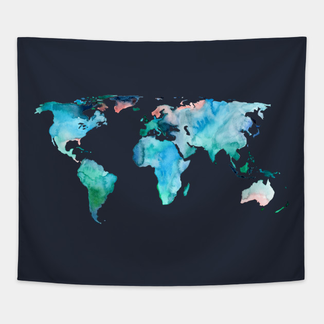 World Map in Indigo, Teal and Blush Pink on world map search engine, world map family, world map art, world map red, world map pillow, world map photography, world map poster, world map engraving, world map bedding, world map painting, world map leather, world map mosaic, world map lithograph, world map furniture, world map in spanish, world map legend, world map cross stitch pattern, world map collage, world map conspiracy, world map america,
