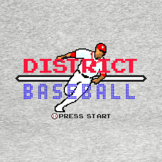 District Baseball - Retro