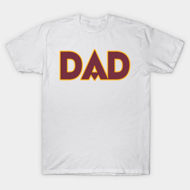 DC DAD! - Washington Redskins - T-Shirt  0a30d6580