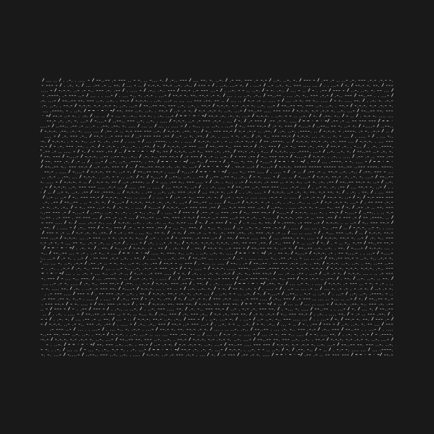 The Bee Movie Script But It's In Morse Code (White Text)