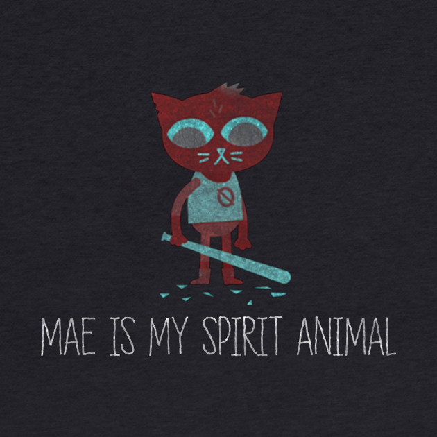 Night In The Woods - Mae Is My Spirit Animal - Dirty