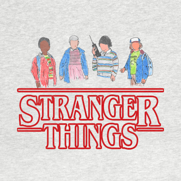Stranger Things - the Gang