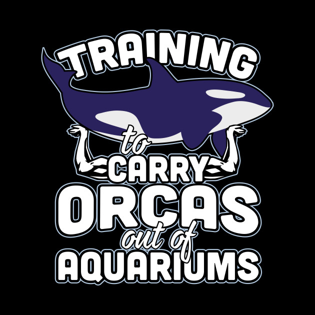 Training to carry orcas out of Aquariums
