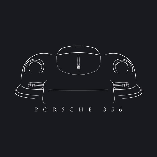 1953 Porsche 356 - stencil