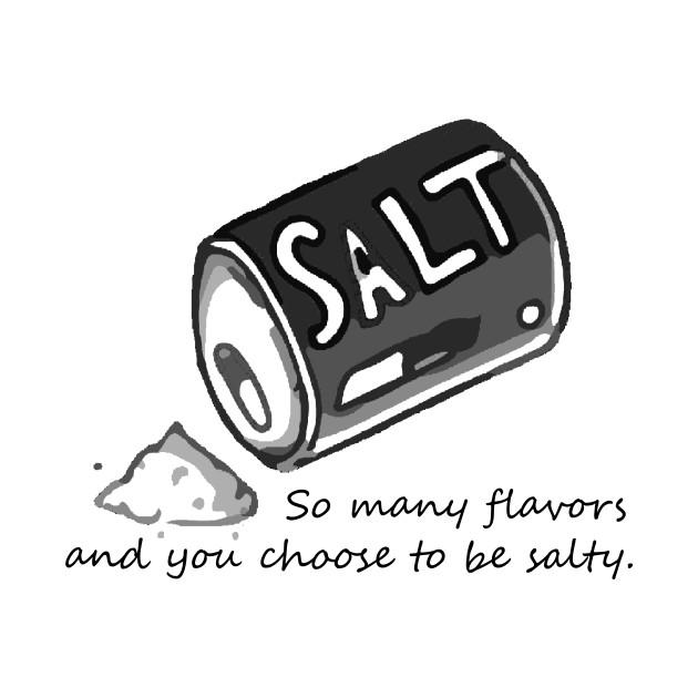 PJ salt - Salty - T-Shirt | TeePublic
