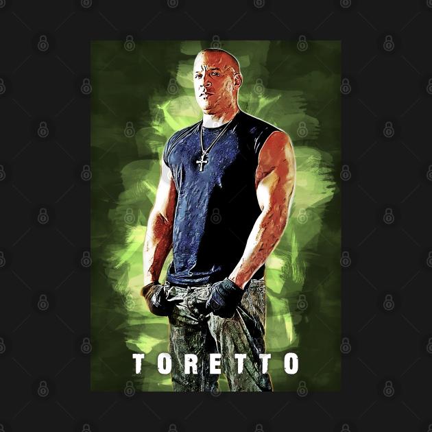 Dominic Toretto the Fast & Furious Artwork