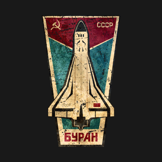 CCCP BYPAH Space Shuttle - Cccp - T-Shirt | TeePublic