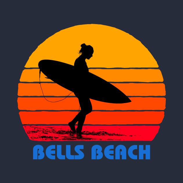 Bells Beach Australia Surfer Sun
