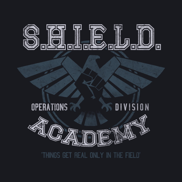 Shield Academy (Ops. Division) - Light Print