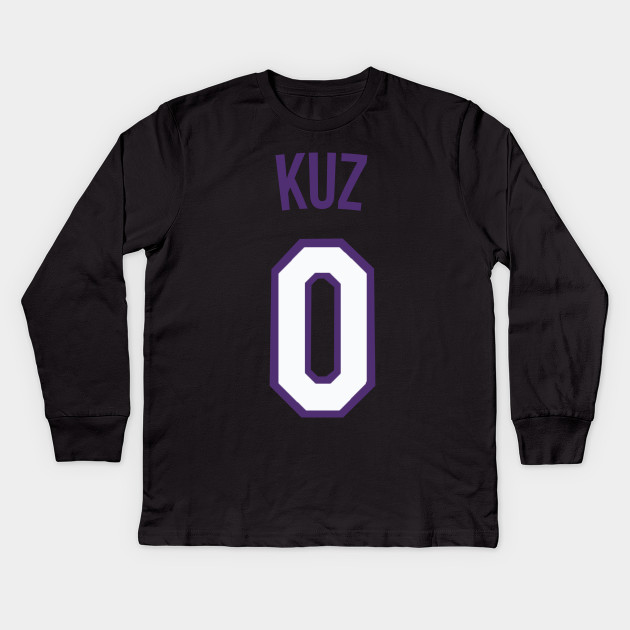 buy popular 54e2e 69e41 Kyle Kuzma 'KUZ' Nickname Jersey - Los Angeles Lakers