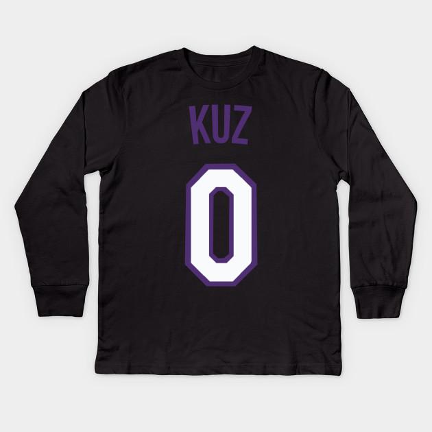 buy popular 1fc40 c3532 Kyle Kuzma 'KUZ' Nickname Jersey - Los Angeles Lakers