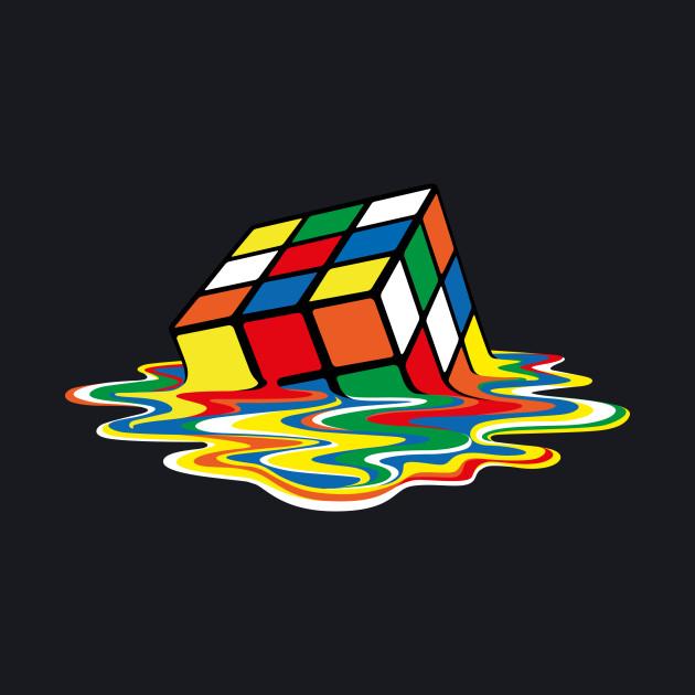 Sheldon Cooper - Melting Rubik's Cube