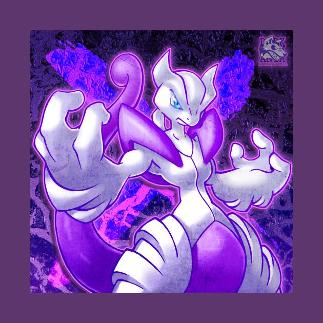 Mega mewtwo x pokemon t shirt teepublic - Pokemon mewtwo mega evolution x ...