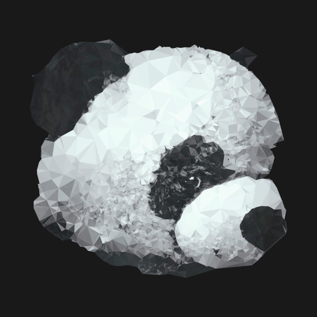 Panda Bear Portrait