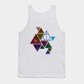 33d3e9d84f0e9 Harry Potter - triangle (colored galaxy) - elder wand