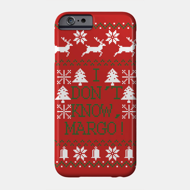 Margo Christmas Movie Vacation Ugly Christmas Pixel Design Phone Case