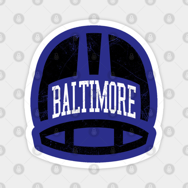 Baltimore Retro Helmet- Purple