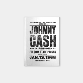 johnny cash notebooks teepublic