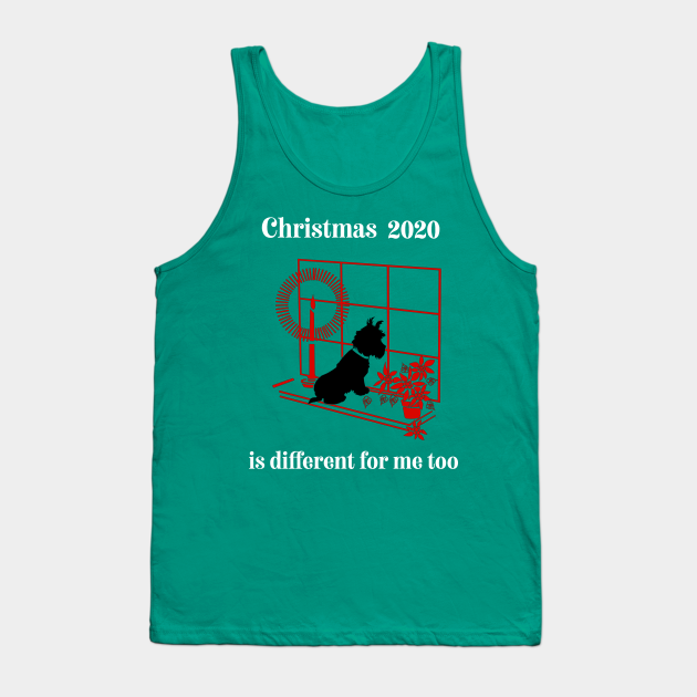 Christmas terrier dog tee