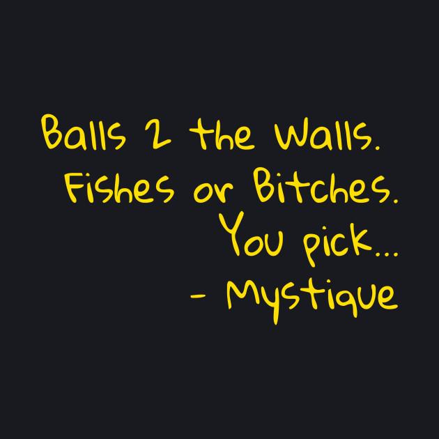 Mystique's mirror message - rpdr s2