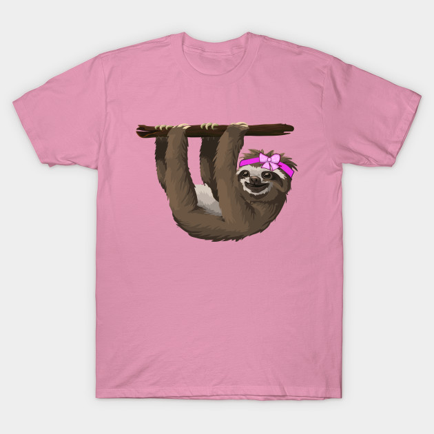 92f0d32197b6 Just a girl who loves sloths gift for girls - Just A Girl Who Loves ...