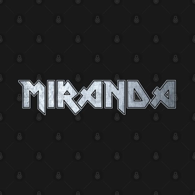 Heavy metal Miranda