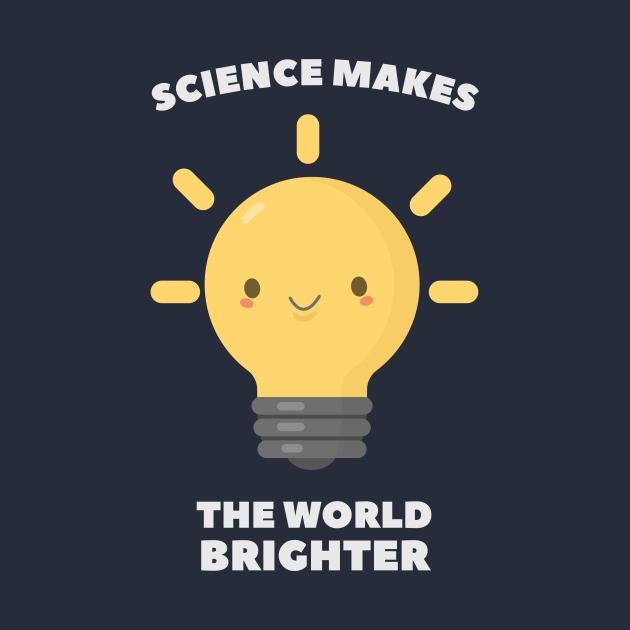 Kawaii Science Pun Humor T-Shirt
